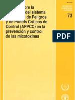 Prevencion y Control de Micotoxinas