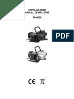 Instructiuni Pompa Gradina Tp 0320