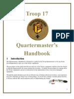 Quartermaster Handbook Troop17[1]