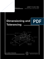 91451045 ASME Y14 5M 1994 Engineering Drawing Dimension Ing and Tolerancing