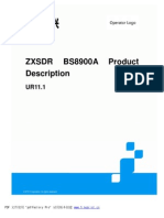 ZTE_ZXSDR BS8900A Product Discription
