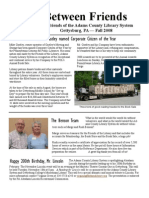 FALL Newsletter 2008