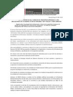 "PCM APRUEBA EL USO OBLIGATORIO DE LA NORMA TÉCNICA PERUANA ""NTP-ISO/IEC 27001:2008 EDI"