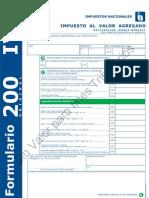 FORMULARIO 200