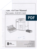 Scil ABC Vet User Manual