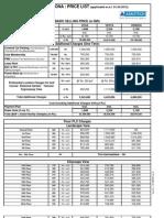 Celes-corona Price List 1-4-2012 assotechceleste.org 09810468882