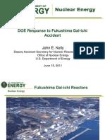 DOE Response to Fukushima Dai-IchiAccident John E. Kelly -June15 2011 (Final)