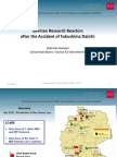 German Research Reactorsafter the Accident of Fukushima Daiichi
