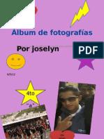 Álbum de fotografías joselyn