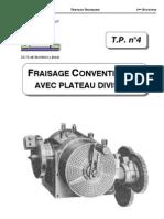 TP4_ Fraisage Avec Plateau Diviseur