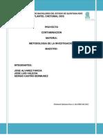 metodologia contaminacion