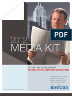 2012 Champion Newspaper Media Kit