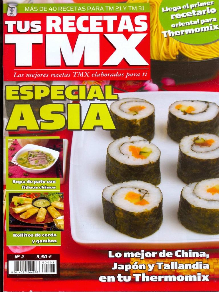 Tus Recetas Thermomix Especial Asia