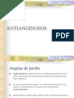 Antianginosos. 2