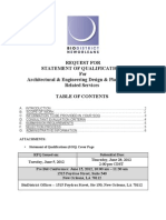 Architecture and Engineering Statement of Qualifications