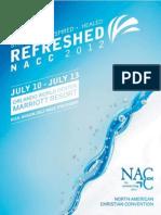 2012 NACC Program Book