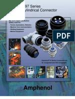 Inhouse Amphenol 97 Series DTL-5015 Connectors Solder