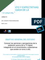 Encuesta TV Digital en Chile 2012 - Adimark-DirectTV