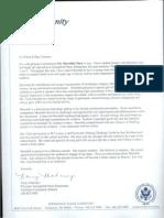 mahoney letter of rec
