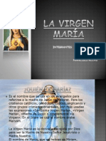 LA VIRGEN MARÍA