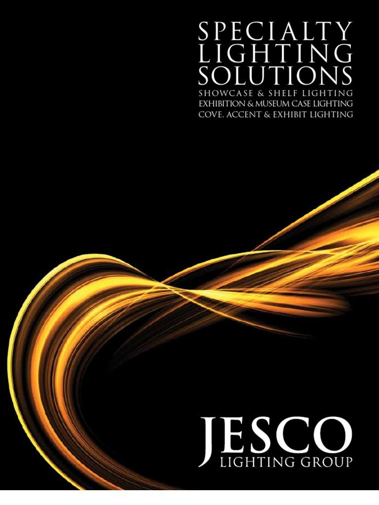 Aluminum Finish 6000K Color Jesco Lighting S601-12//60 LED Slim Stix 12 Linkable Cove Display Light Strip