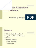 5 Capital Expenditure Decisions 19.4.06