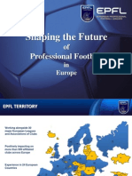 EPFL Shaping the Future of Professional Football in Europe (May 2012)