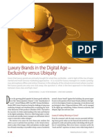 Luxury Brands in the Digital Age