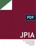 JPIA Spring 2012 Online