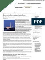 Monuments, Memorials and Public Spaces