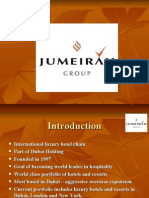hotel managemnt Presentation on Jumaria group