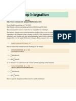 Integration Steps