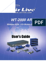 AirLive WT-2000ARM Manual