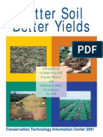 BetterSoilBetterYields-Conservation Technology Information Center 2001