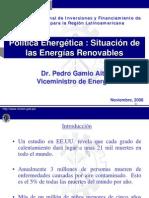PoliticaEnergeticaRenovables_Gamio