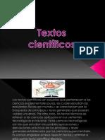 Tipos de Textos Centificos