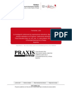 La investigación institucional de organizaciones