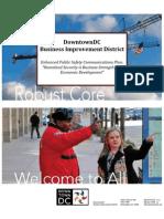 SCBrown DCBID StrategicComm Summary