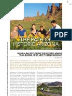 The Path of Historic Arizona by Matt Seli