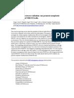 Microwave Radiation Promotes Cancer Cells (Yang Et Al 2012).