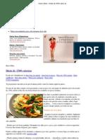 Hacer dieta » Dieta de 1500 calorías