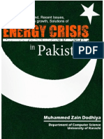 Energy Crisis in Pakistan