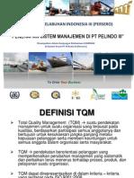 Penerapan Sistem Manajemen PT Pelindo III (UNIBRAW)