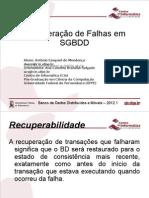 BDDM - Recuperação de falhas