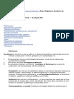 Reglamento Itesm MEXICO Admin