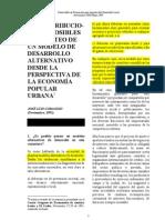 desarrollo local alternativo desde la economía popular _José Luis Coraggio