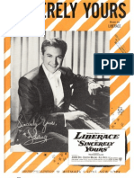 Sincerely Yours - Liberace