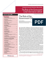Role of Government CIO