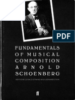 Arnold Schoenberg - Fundamentals of Music Composition (Ocr)