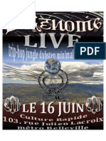 LIVE 16 juin 2012
